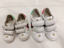アレク&川崎希、GUCCIの靴で息子の成長を実感「どんどん大きくなってきた」