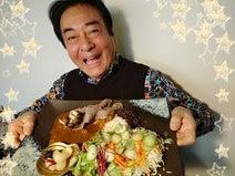 高橋英樹、自宅で食べた大盛りカレーを公開「豪快」「プロ顔負け」の声