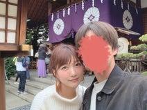 """あいのり・桃、彼氏と""""恋愛のパワースポット""""デート「自分たちを信じて!!」"""