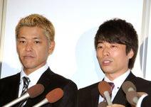 ロンブー田村淳、相方・亮と笑顔2ショット公開 ファンから激励の声「応援します!」