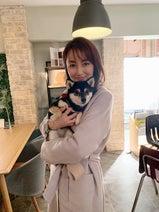 """矢田亜希子、念願の""""チロリアン""""との2ショットを公開「たまらなく可愛すぎる」"""