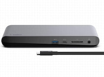 ベルキン、新しいMacBook Airなどに対応する「Thunderbolt 3 Dock Pro」発売