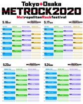 BiSH、たけやま3.5ら出演<METROPOLITAN ROCK FESTIVAL 2020>、タイムテーブル&全アーティスト発表!