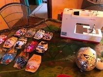 野沢直子、夫が引き続きマスク作りに没頭「職人心に火がついた」