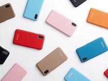 タケフジ、高級感ある天然革使用のiPhoneケース「L'ADELINE」より発売
