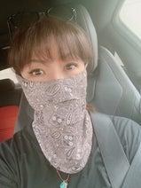 小川菜摘、暑い日のマスク対策を紹介「鼻の下と口の下が少しだけ開いてる」