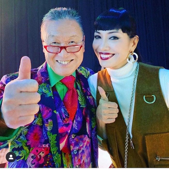 アンミカ、山本寛斎さんの訃報を受け思いをつづる「いつも背筋を伸ばして、満面の笑顔で」