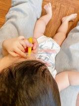 吉木りさ、娘の歯磨きデビューを報告「ちょっと嫌がる我が子」