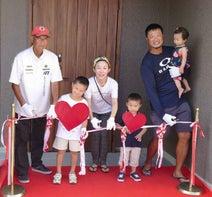 小原正子、新居の竣工式を行ったことを報告「家族全員 新居に集合しました」