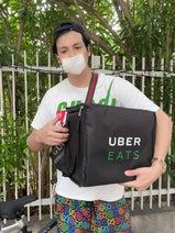 川崎希、夫・アレクが『Uber Eats』でバイト開始「お小遣いもらえないから」