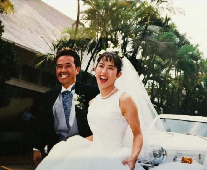 江口ともみ、夫・つまみ枝豆と24回目の結婚記念日「お互い身体に気をつけようね」