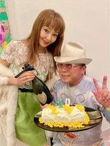 """神田うの、ドン小西の""""70歳""""の誕生日祝い「もちろんサプライズは大成功」"""