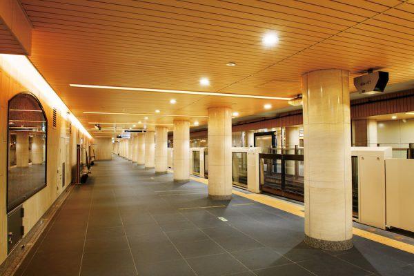 東京メトロ、銀座線各駅をリニューアル 日本橋・外苑前など5駅