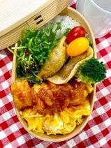 渡辺美奈代、次男に作った色鮮やかな海老チリ弁当「今週もお弁当作りからスタート」