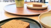 日本茶カフェ「CHAYA 1899 TOKYO」の濃茶ラテと酒×茶のほろ酔いケーキに舌鼓【新橋】