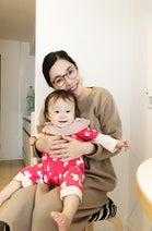 キンタロー。娘と平野ノラの自宅を訪問「マタニティ中におすすめの干し芋を持って行きました」