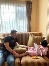 花田虎上、骨折した娘の経過を報告「後悔で元気がなかった」