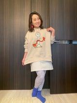キンタロー。親友・芹那にコーデしてもらった服装「友達史上一番のオシャレ」