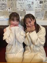 もえあず、鈴木亜美との2ショットを公開「初めてお会いできて感動」