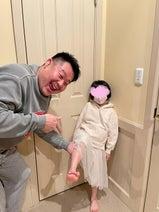 花田虎上、娘のギプスが外れたことを報告「一安心」「良かった」の声