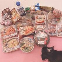 小柳ルミ子、セブンで大量買いした商品を紹介「今夜は何を食べようかな」