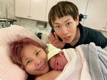 浜田ブリトニー&いわみん、第2子男児の誕生を報告「本当に今幸せを感じてます」