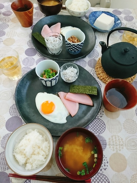 細川直美、夫・葛山信吾に作った朝食に「豪華」「理想的」の声