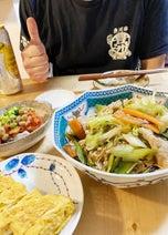 ニッチェ・江上、夫の手料理に感動「理想」「料理上手」の声