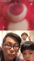 ココリコ・遠藤の妻、夫の娘と家族でTV電話「なんだか、私もほっこり」
