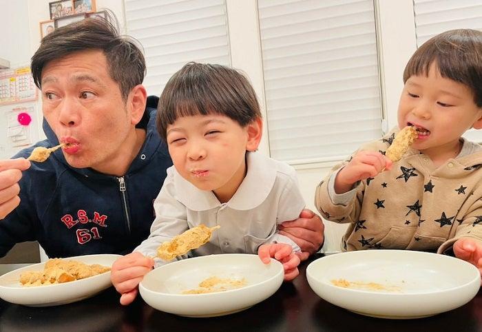 ココリコ遠藤の妻、夫の今日からダイエット宣言するも「めっちゃ、食べてますね」