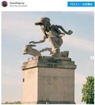 ポケモンやスター・ウォーズも……パリの彫像をポップカルチャーのキャラクターにしてみたら