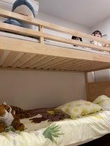 大渕愛子弁護士、息子達に購入した2段ベッドを披露「上の段の取り合いに」
