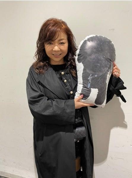 小川菜摘、ハイヒールモモコから亡き愛犬のクッションの贈り物「泣きそうになったよ」