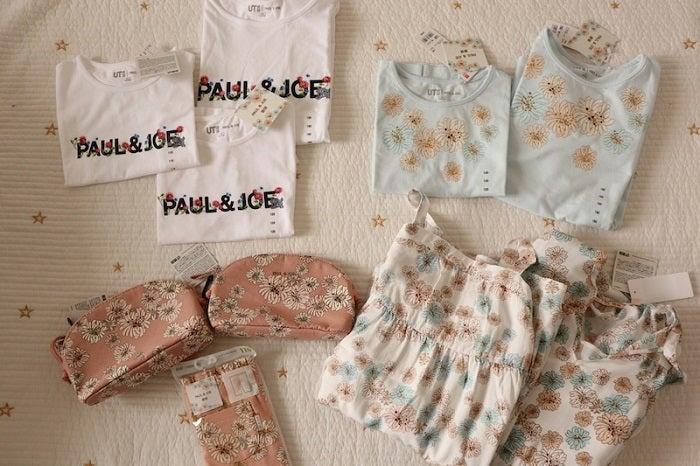 紺野あさ美、ユニクロと『PAUL&JOE』のコラボ品を爆買い「本当に可愛い」