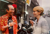研ナオコ、志村けんさんとの笑顔ショットに「素敵」「最高です」の声
