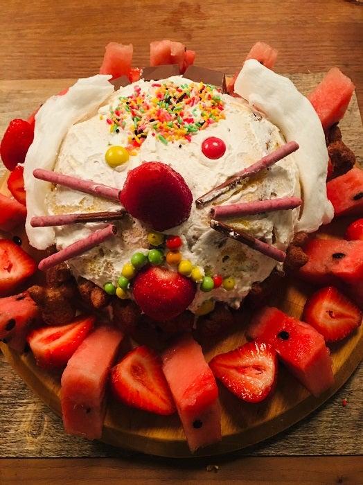 真矢ミキ、7歳の姪と作ったケーキを披露「刺激を受けた1日でした」