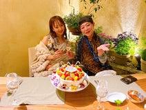 美川憲一、神田うのの誕生日を祝福し2ショットを公開「ほんとによく頑張ってる」