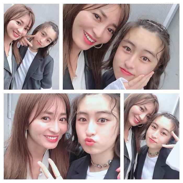 新山千春、14歳娘との2ショットを公開「そっくり」「めちゃめちゃ美人」の声