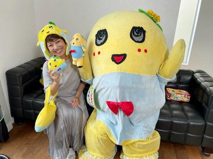 大渕愛子弁護士、ふなっしーが自宅訪問し2ショットを公開「なんて幸せなんでしょう」