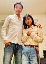 ゆりえ、夫・大浦龍宇一との笑顔ショットを公開「今だけ21歳差夫婦です」