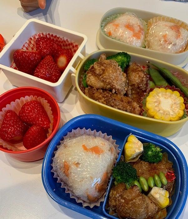 小倉優子、ランチに作った弁当を公開「少し早い夏気分」