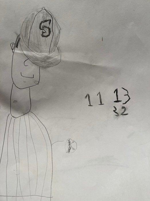 ダルビッシュ有の妻・聖子、次男が描いた夫の絵を披露「バントをしようとするパパに大興奮」