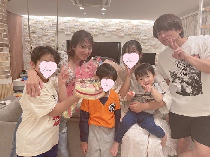 辻希美、子ども達からのサプライズに涙腺崩壊「私は最高に幸せです」