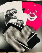 ココリコ・遠藤の妻、西松屋で購入した息子達の服を紹介「全部お揃いのを買ってしまう」