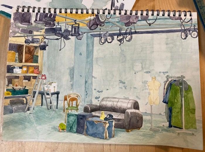 ニッチェ・江上『プレバト!!』で水彩画に挑戦した結果「才能凄い」「お見事」の声