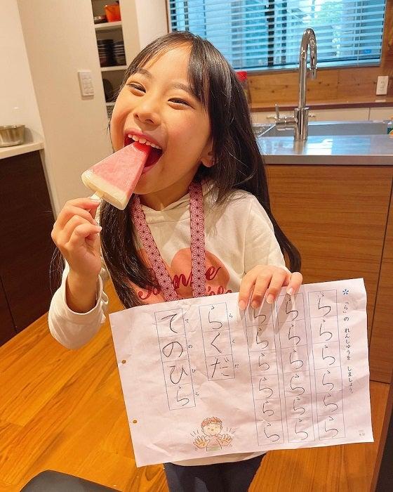 みきママ、娘と決めた宿題のルール「文句を言いながらもちゃんとやる」