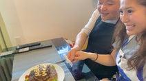内山信二の妻、結婚式を延期して1年が経過「少し淋しい部分があったんだけど」