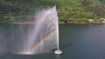 美しい、だけじゃない 宮城・七ヶ宿ダムの大迫力噴水が打ち上げ再開