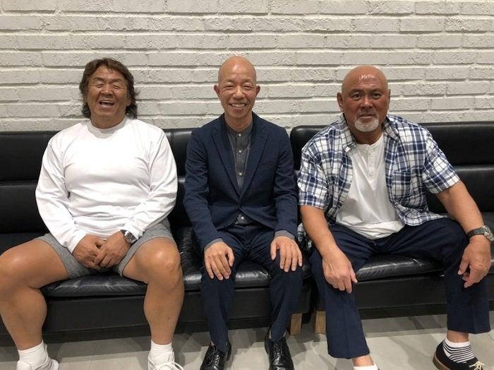 長州力、武藤敬司&バイきんぐ・小峠との3ショットを公開「まるで双子!?」
