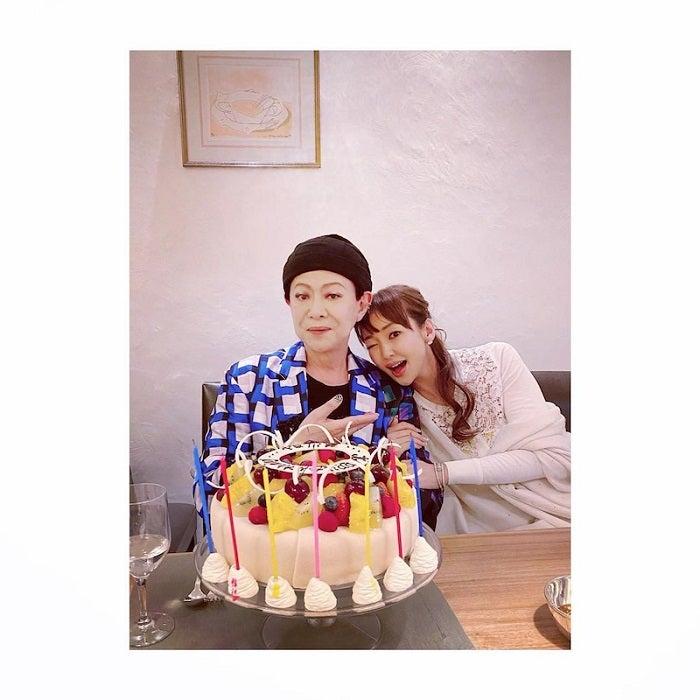 神田うの、家族のような美川憲一の誕生日を祝福「もう27年のお付き合いになる」